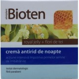 ELMIPLANT  BIOTEN CREMA ANTIRID DE NOAPTE ROYAL JELLY + FLORI DE TEI (50 ml)