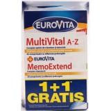 EUROVITA  MULTIVITAL A-Z + MEMOEXTEND (1+1 gratis)