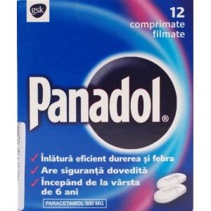 Gsk Panadol (12 Comprimate Filmate)