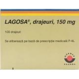 LAGOSA 150 mg (100 drajeuri)
