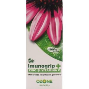 Ozone Imunogrip+ Zinc Si Vitamina C (50 Ml)