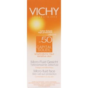 Vichy Capital Soleil Emulsie Ultrafluida Fata Spf50+ (40 Ml)