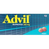 Advil Ibuprofen 200 mg (10 drajeuri)