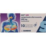 Acc 600 mg (10 comprimate efervescente)