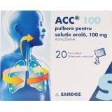 Acc 100 mg (20 plicuri)