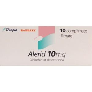 Alerid 10 mg (10 comprimate filmate)