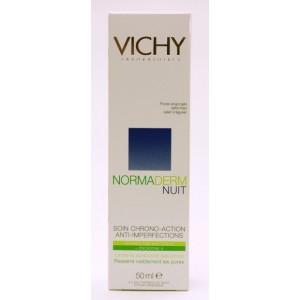 Vichy Normaderm Nuit Crema Crono-activa de noapte pentru tenul cu probleme (50 ml)