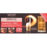 Vichy  Dercos Aminexil Pro Barbati (18 Fiole + 9 cadou)