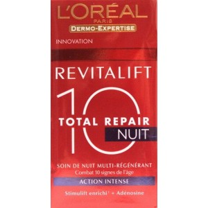 L'oreal Revitalift Total Repair 10 crema de noapte hidratanta (50 ml)