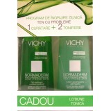 VIchy Normaderm Gel de curatare (200 ml) + Vichy Lotiune tonica cadou (200 ml)