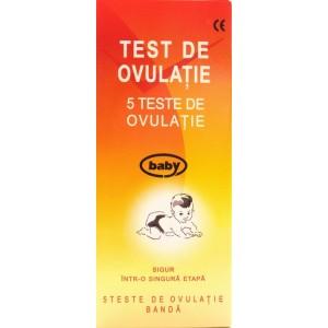 Test de ovulatie baby (5 teste)