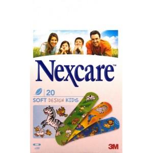 Plasturi Nexcare soft pentru copii (20 plasturi)