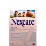 Plasturi Nexcare soft (20 plasturi)