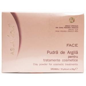 Aslavital Pudra De Argila Pentru Tratament Cosmetic
