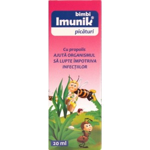 Ecopharma Bimbi Imunik picaturi (20 ml)