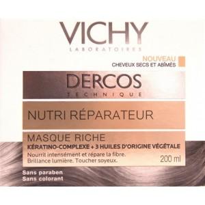 Vichy Dercos Masca nutri-reparatoare par uscat si degradat (200 ml)