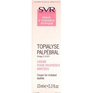SVR Topialyse Palpebral Crema Pentru Pleoape Iritate (10 ml)