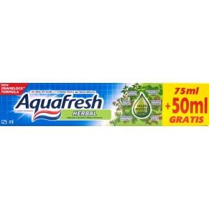 Aquafresh Herbal (75 ml + 50 ml gratis)