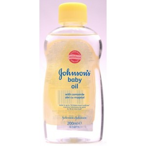 Johnson's Baby Bedtime Oil Cu Musetel (200 ml)