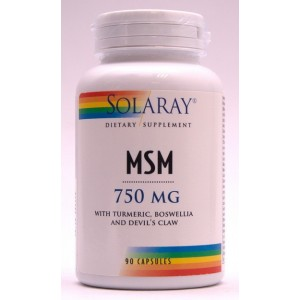 Solaray MSM 750 mg (90 capsule)
