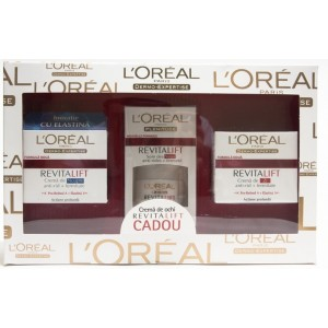 L'Oreal Dermo-Expertise - Crema anti-rid+fermitate (pachet promotional)