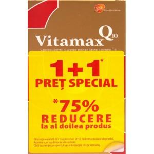Vitamax Q10 (15 capsule moi) 1+1 Pret Special *75% Reducere la al doilea produs