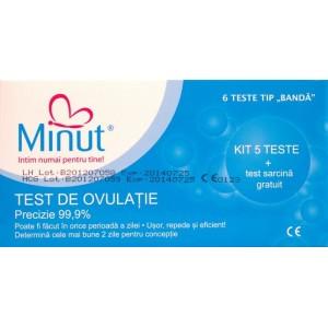 Test de Ovulatie Minut + Test Sarcina gratiut
