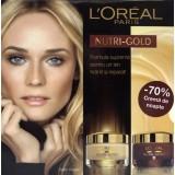 L'Oreal Nutri-Gold Crema de zi +  L'Oreal Nutri-Gold crema de noapte
