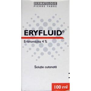 Eryfluid Solutie cutanata Eritromicina 4% (100 ml)