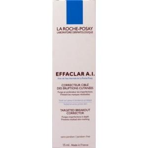 La Roche-Posay Effaclar A.I. Corector pentru Eruptiile Cutanate ( 15 ml)