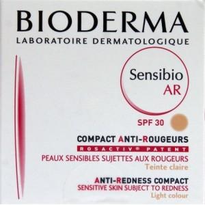 Bioderma Sensibio AR Crema compacta Claire, SPF 30/UVA 16 (10 g)