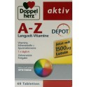 Doppelherz Aktiv A-z Retard Cu Luteina (60 Tablete)
