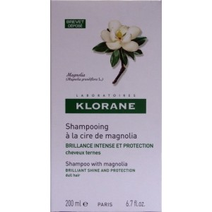 Klorane Sampon cu ceara din fructe de magnolie (200 ml)