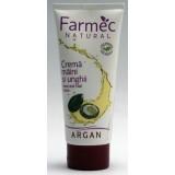 Farmec Natural Crema maini si unghii cu argan (100 ml)