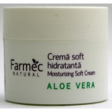 Farmec Natural Crema soft hidratanta cu Aloe Vera (150 ml)