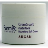 Farmec Natural Crema soft nutritiva cu Argan (150 ml)