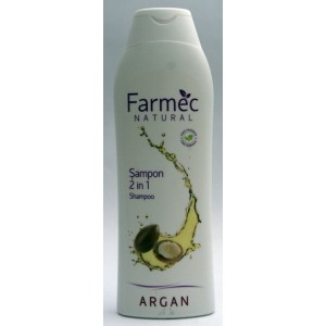 Farmec Natural Sampon 2 in 1 cu argan (400 ml)