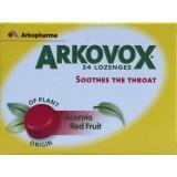 ARkopharma Arkovox Acerola si fructe rosii (24 comprimate)