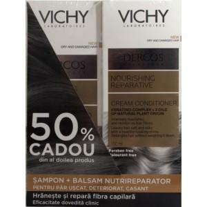 Vichy Dercos Sampon Nutrireparator + Balsam Nutrireparator