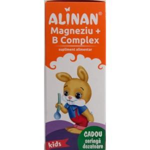 Alinan Kids Magneziu + B complex (150 ml)