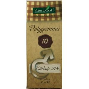Plantetrakt Polygemma 10 Barbati 50+ (50 ml)