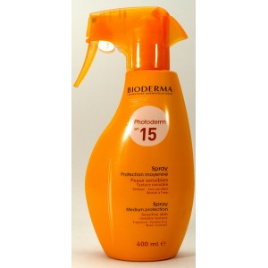 Bioderma Photoderm spray SPF15/UVA10 (400 ml)