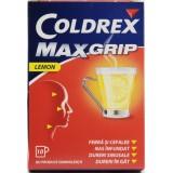 GlasgoSmithKline COLDREX MAXGRIP LEMON (10 pliocuri pulbere orala)