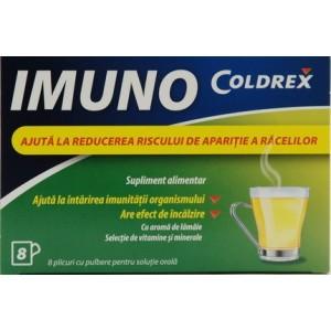 Glaxosmithkline Coldrex Imuno (8 Plicuri Cu Pulbere Pentru Solutie Orala)