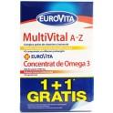 Glaxosmithkline Eurovita Multivital A-z + Eurovita Concentrat De Omega3 (1 + 1 Gratis)