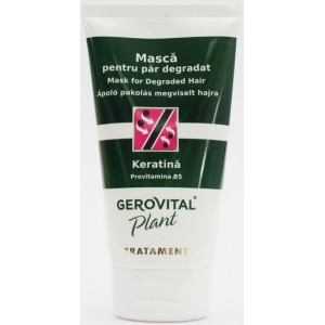 Gerovital Plant Tratament Masca Pentru Par Degradat (150 Ml)