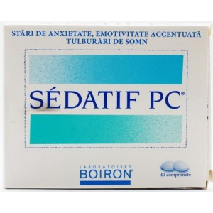 Boiron Sedatif Pc (40 Comprimate)