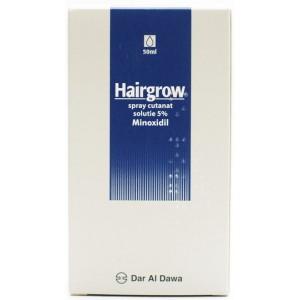 Dar Al Dawa Hairgrow Solutie 5% Minoxidil Stimulator Al Cresterii Parului (50 Ml)