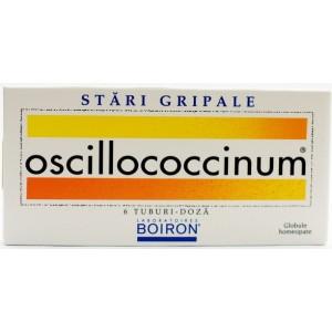 Boiron Oscillococcinum (globule Homeopate, 6 tuburi doza)