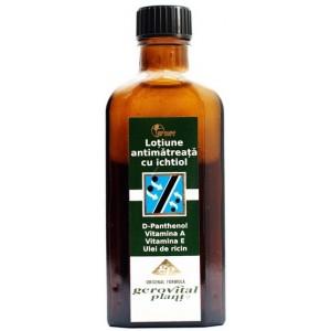 Gerovital Plant Tratament Lotiune Anti-matreata Cu Ichtiol (100 Ml)